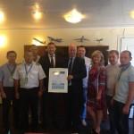 Вручение IATA сертификата